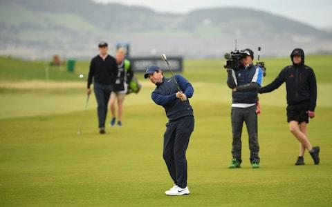 Rory McIlroy of Northern Ireland chips on the 9th hole during Day four of the Alfred Dunhill Links Championship at The Old Course on September 29, 2019 in St Andrews, United Kingdom - Credit: Getty Images