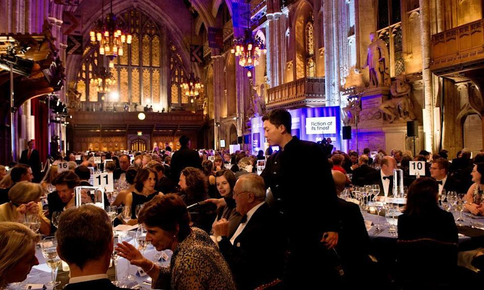 Guests at the Guildhall ahead of the announcement of the 2012 Man Booker Prize for Fiction. Winners are not eligible for the fast-track scheme.