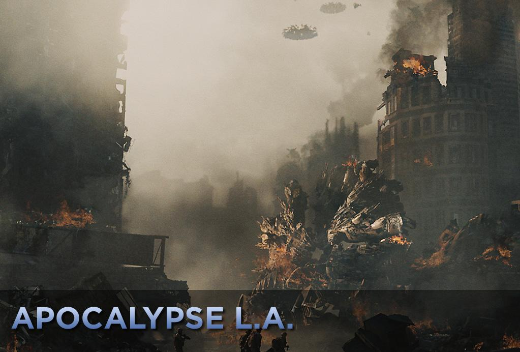 "With the possible exception of Tokyo, Los Angeles has to be trashed more often and with greater seeming glee on the part of the filmmakers than any other city out there. The latest example is ""<a href=""http://movies.yahoo.com/movie/1810119633/info"">Battle: Los Angeles</a>,"" a movie about a bunch of aliens who make Santa Monica look like downtown Mogadishu in an alarmingly short time. We've put together a gallery of other movies where the City of Angels gets it in the neck."