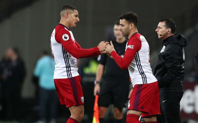 No charge: West Brom midfielder Jake Livermore escaped FA censure following confrontation with West Ham fan