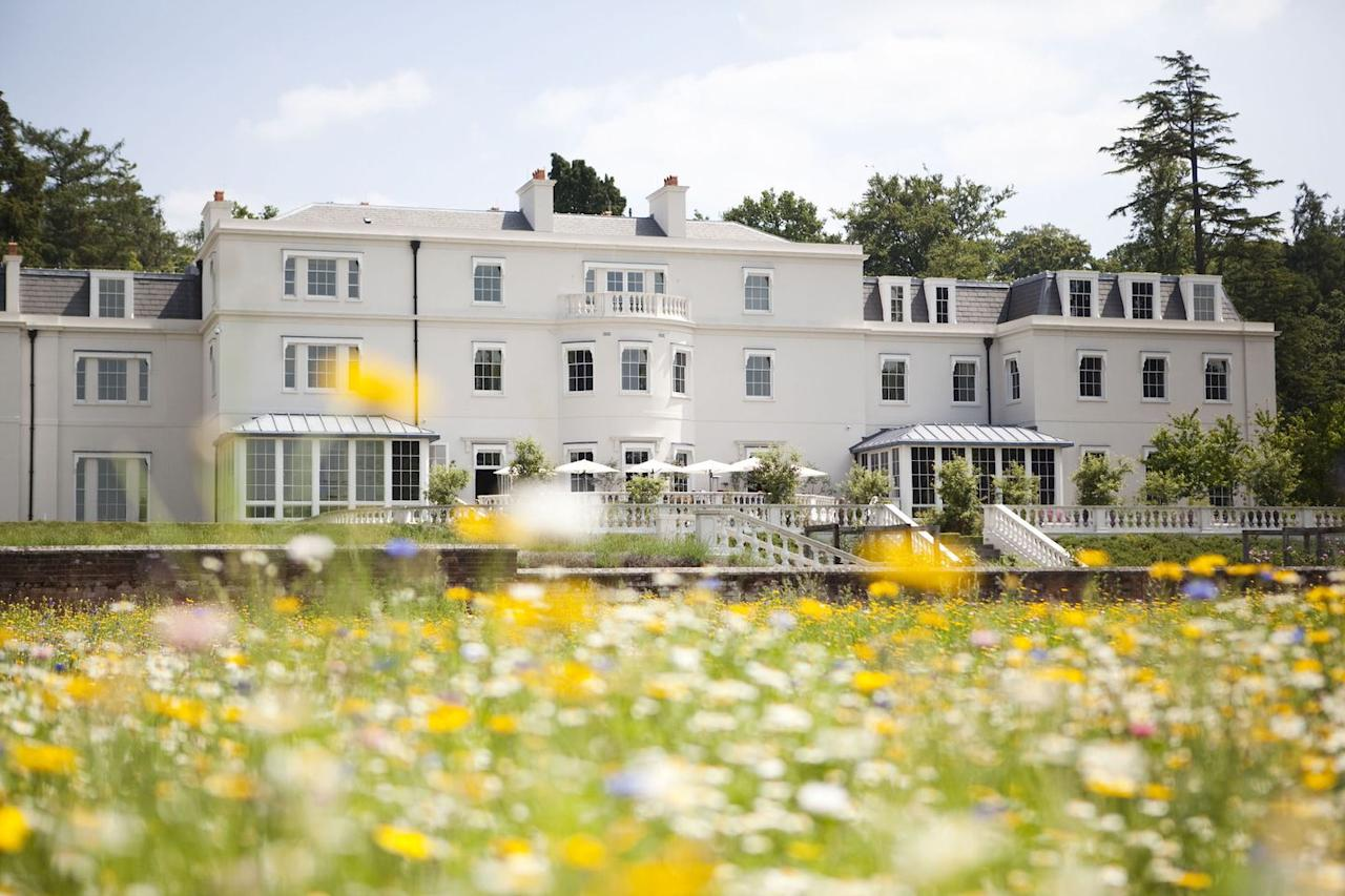 """<p>Nestled in the heart of Ascot, Berkshire is a venue perfect for those in search of a countryside wedding just a 45-minute drive from Central London. </p><p>Event space at Coworth includes the neutral-toned Oval Room with a private patio, the Garden Room, the Oak Room, The Barn and the gardens (with its beautiful ten-acre wildflower meadow).</p><p>For those in search of a smaller ceremony space, guests can wed in The Dower House, Coworth Park's private house and signature suite, situated on the estate and built in 1775 which overlooks the lake that's home to Park's family of swans. Need we say more?</p><p>An aisle of wild flowers (during the summer seasons) can be requested, as can a complimentary overnight stay for four people in two Superior Rooms.  There are also several nearby churches to choose from. </p><p>Find out more <a href=""""https://www.dorchestercollection.com/en/ascot/coworth-park/weddings/"""" target=""""_blank"""">here</a>.</p>"""