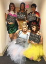 """<p>Princesses...with a twist. Use homemade signs for a funny take on these fairy tales.</p><p><a class=""""link rapid-noclick-resp"""" href=""""https://www.amazon.com/Womens-Fluffy-Princess-Layers-Underskirt/dp/B07TNP4B2D/ref=sr_1_17?dchild=1&keywords=colored+tutus&qid=1598986153&s=apparel&sr=1-17&tag=syn-yahoo-20&ascsubtag=%5Bartid%7C10072.g.27868790%5Bsrc%7Cyahoo-us"""" rel=""""nofollow noopener"""" target=""""_blank"""" data-ylk=""""slk:Shop Tutus"""">Shop Tutus</a></p>"""