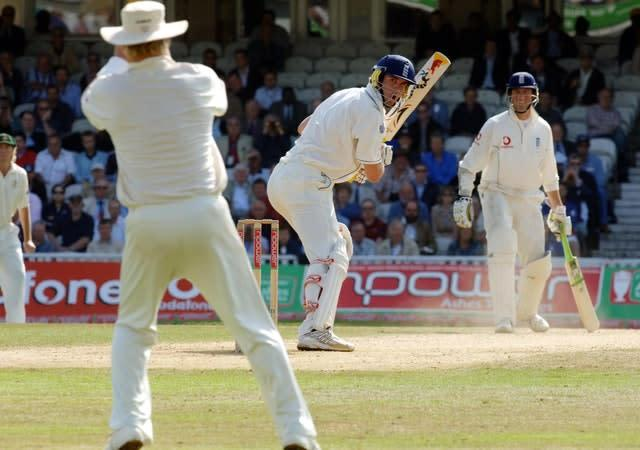 Kevin Pietersen was dropped by Shane Warne during the 2005 Ashes before going on to score 185 (Sean Dempsey/PA)