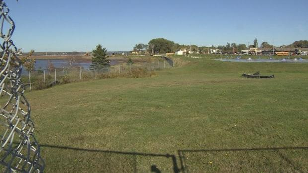 Stratford's new waterfront park will be where the sewage lagoon now sits, just across the Hillsborough River from downtown Charlottetown.