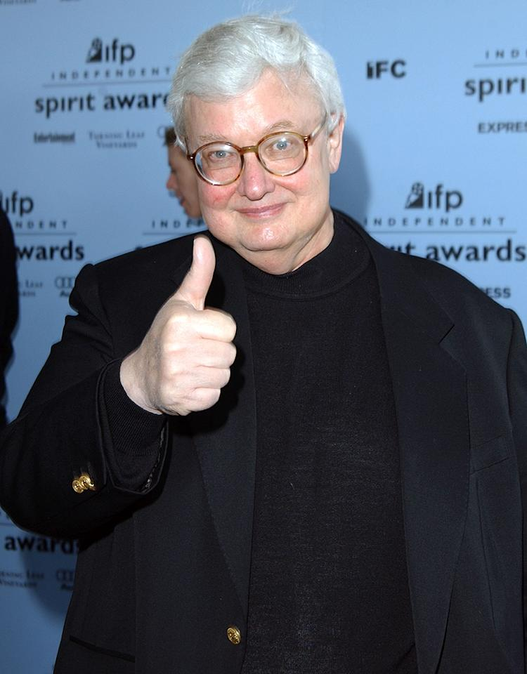 "Roger Ebert, movie critic extraordinaire, died April 4 after a battle with cancer. He was 70. For more than 45 years, his film reviews appeared in the <em>Chicago Sun-Times</em> – and, of course, he also shared his opinions on TV, first on ""Siskel & Ebert at the Movies"" and then with ""At the Movies with Ebert & Roeper."" A Pulitzer Prize winner, he wrote more than 15 books on subjects ranging from films to food. In 2002, he was diagnosed with thyroid cancer and soon after growths were found on his salivary glands, which necessitated surgery to remove part of his jaw. While he lost his voice and could speak only through a machine, he found a new medium to embrace – the Internet. Ebert had a lively presence online through his blog as well as Twitter, where he had over 800,000 followers. Just days before he died, he announced that his cancer had returned. (Doctors had discovered it in 2012 after he broke his hip.) However, Ebert was optimistic about his future, calling his leave of absence to undergo radiation a ""leave a presence,"" and ensuring his fans, ""It means I am not going away,"" which makes his sudden passing even sadder."