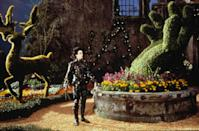 """<p>Set designers welded together lightweight steel armatures wrapped with chicken wire and then stuffed them with artificial greens to make Scissorhands's signature shrub sculptures. """"We decided on animal shapes [because] it was meant to be part of Edward's imagination,"""" said Welch. """"And they looked cool.""""</p>"""