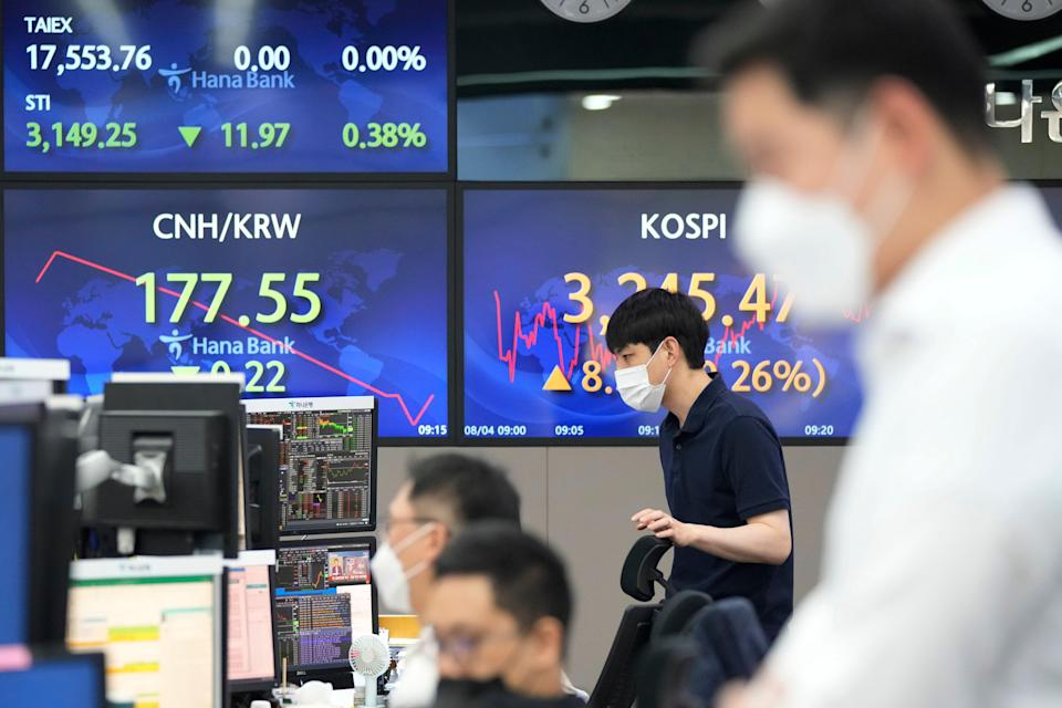 Asian markets are flat while the US indices end the session mixed overnight  (AP)