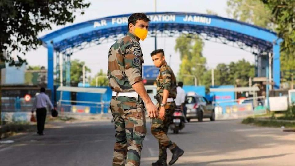 Crude bomb found in Jammu after drone attack at airport