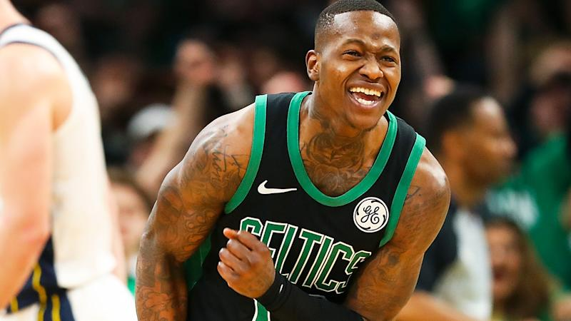 Terry Rozier, pictured playing for the Boston Celtics, is an good Fantasy Basketball prospect after switching to the Charlotte Hornets in free agency.