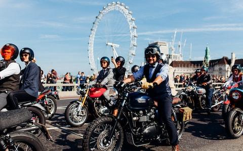 The 2017 Distinguished Gentleman's Ride in London