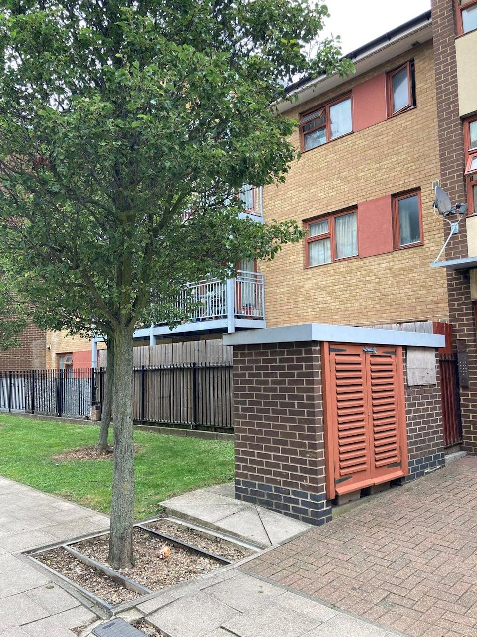 The location outside Stephen Port's former flat in Cooke Street, Barking, east London, where Anthony Walgate's body was found (Emily Pennink/PA) (PA Wire)