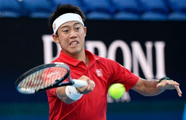 Kei Nishikori is involved in an exciting first-round opener