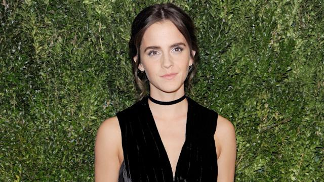 Emma Watson Kicks Off 'Beauty & The Beast' Press Tour in Paris