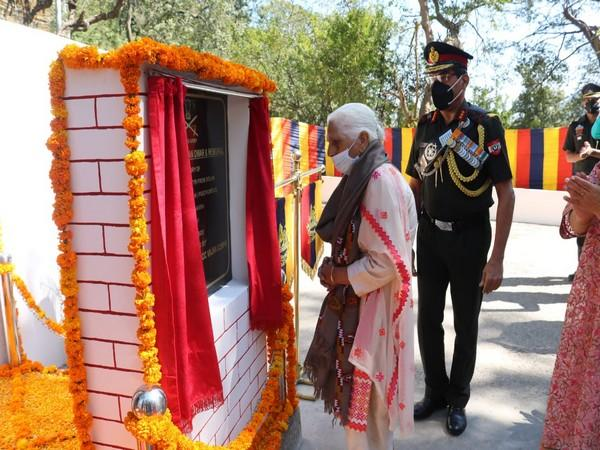 'Captain Sanjay Chauhan Dwar' inaugurated by Lieutenant General Sanjeev Sharma, GOC Vajra Corps here on Thursday at Solan.