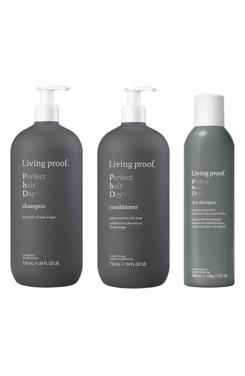 <p><span>Living Proof Jumbo Size Perfect Hair Day Set </span> ($99, $154 value)</p>