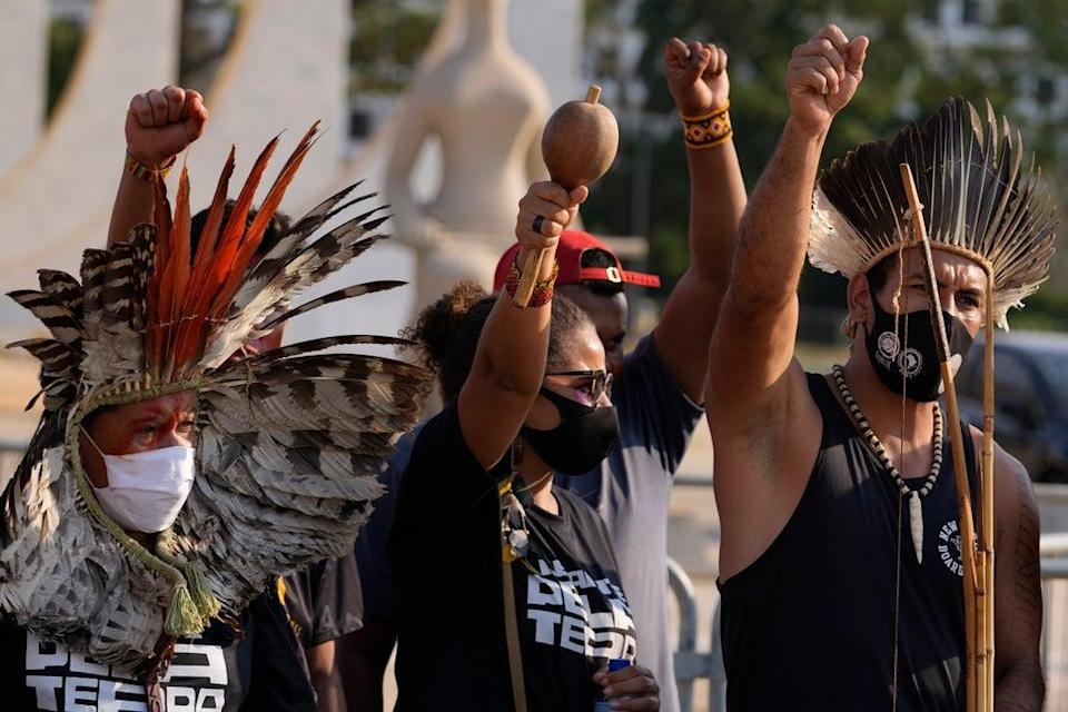 Brazil Indigenous Land Rights (Copyright 2021 The Associated Press. All rights reserved)