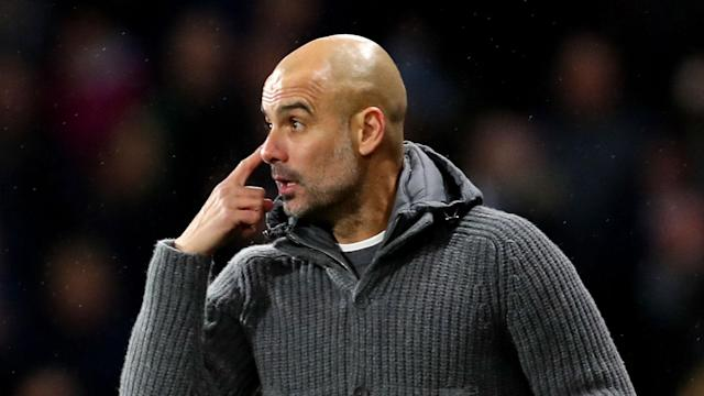 Maurizio Sarri's wholesome praise had not convinced Pep Guardiola his Manchester City side are the best on the continent.
