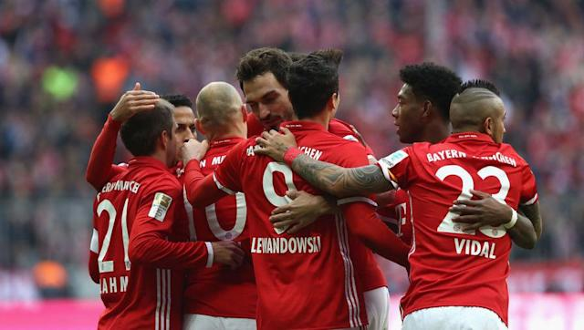 <p>Bayern have won their last five games in all competitions, making small work of any team that dared face them, scoring 22 goals and conceding only one. Overall, Bayern hasn't lost a single game since November 23rd, and back-to-back defeats against Dortmund (1-0) and Rostov (3-2). </p> <br><p>Since that Rostov defeat, more than three months ago, they have played 21 games, winning 19 and drawing 2. Crazy. </p>
