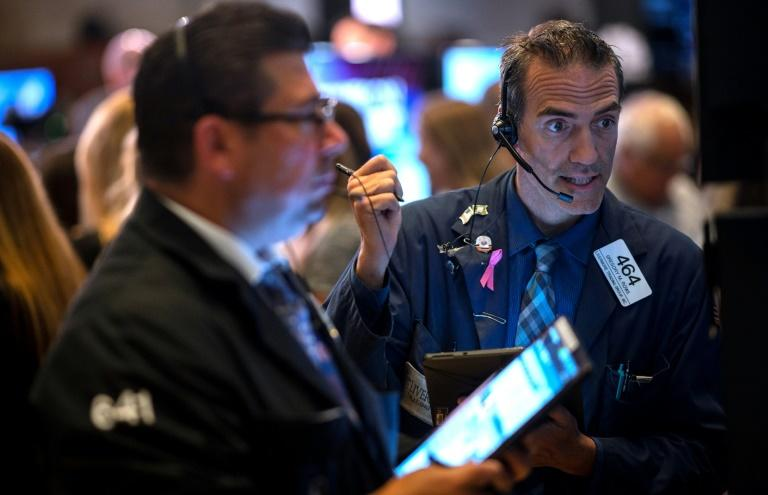 Traders at the New York Stock Exchange earlier this week