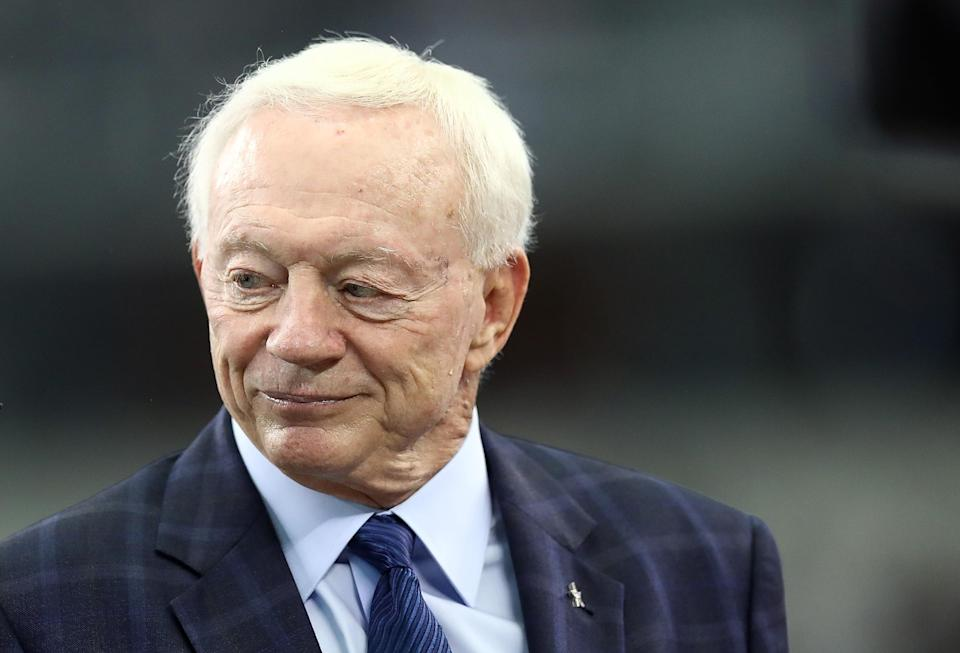A 7-year-old wrote a letter to Cowboys owner Jerry Jones after the team fell to the Titans on Monday, hilariously expressing his growing frustration with the season. (Getty)