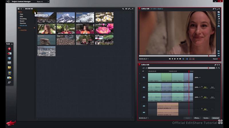 open source video editing software lightworks