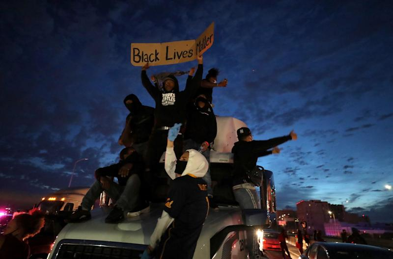 Protestas en Oakland (California).