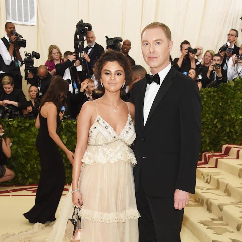 c3ccf433f1c The Story Behind Selena Gomez s Ethereal Custom Coach Dress at the Met Gala