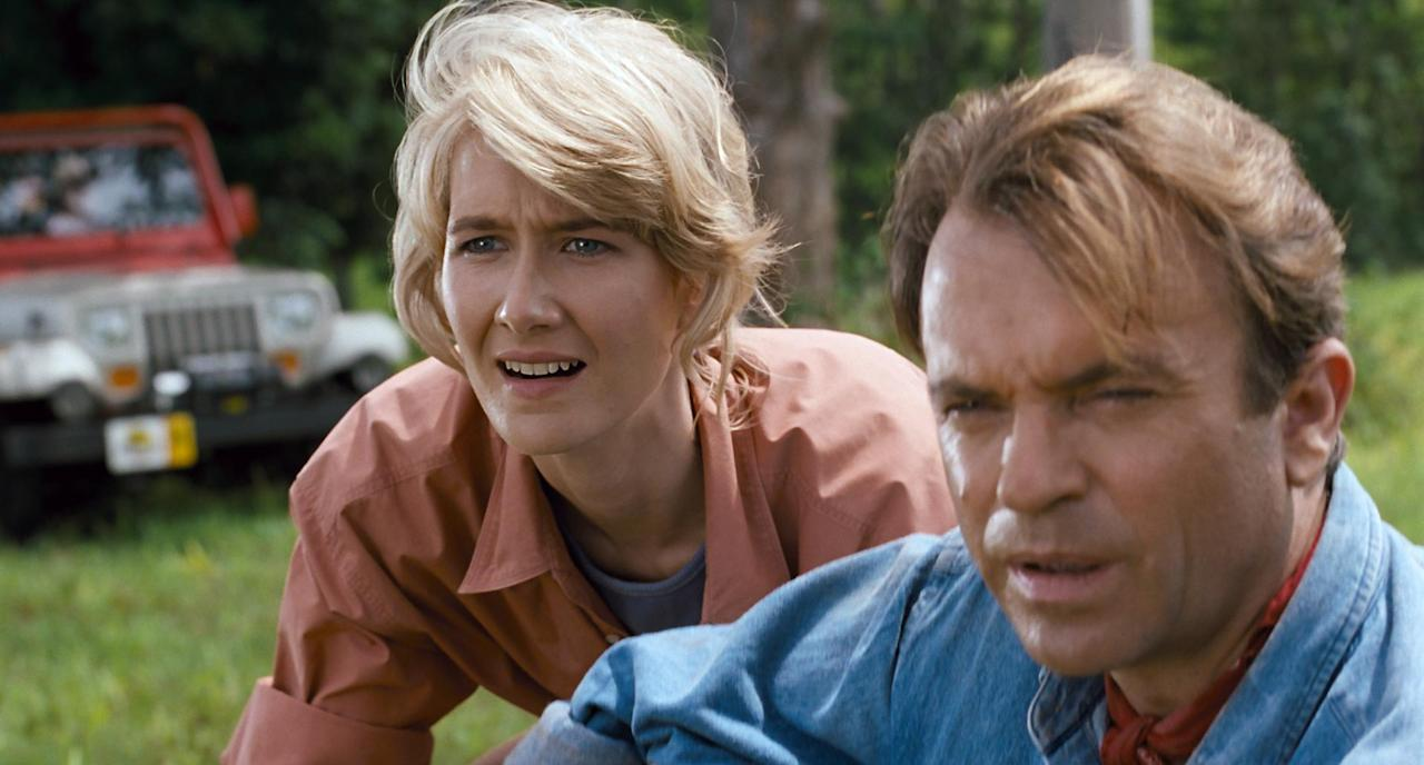 <p>                                     Yes, a dinosaur movie can also be one of the best feel-good movies out there. Spielberg&#x2019;s monster epic from the early &#x2018;90s reigns supreme when it comes to its heart-pumping factor, sure, but in terms of giving you the warm and fuzzies? Really? The tale of a gaggle of scientists and unsupervised grandchildren let loose on an island with a bunch of hungry, hungry dinos is surprisingly uplifting.&#xA0;                                 </p>                                                                                                                               <p>                                     Stories about man vs. monster tend to be all about action and Jurassic Park is no exception. But it&#x2019;s also about human resilience in the face of great danger. It&#x2019;s about our ability to rise up when we&#x2019;re faced with the threat of being torn asunder by prehistoric beasts or sold down the river by scheming lawyers and hackers. That we&#x2019;re in fact, no different at all to those creatures, is the biggest lump-in-throat feeling of all. It boasts one of the most uplifting movie scores of all time too, the perfect cherry atop this glorious blockbuster sundae.&#xA0;                                 </p>