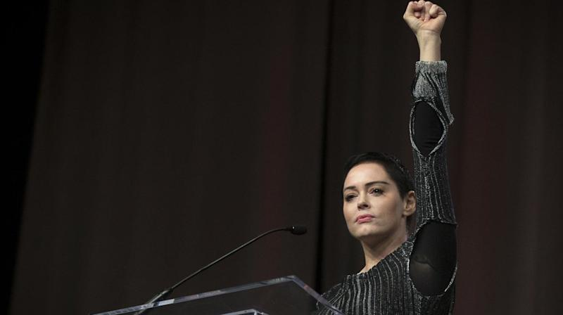 Rose McGowan Takes Aim At Hollywood At Women's Convention: 'It's Time To Clean House'