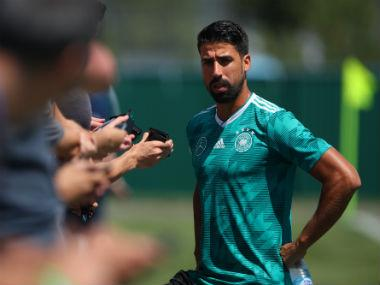 Germany midfielder Sami Khedira wants to continue international career despite national team's World Cup fiasco in Russia