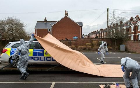 Areas of Salisbury continue to be cordoned off - Credit: Chris J Ratcliffe/Getty
