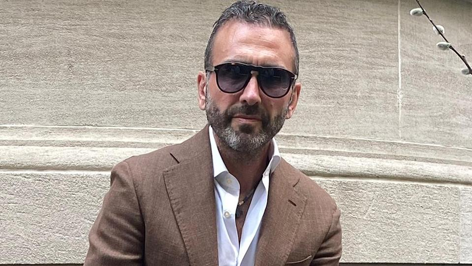 New York-based stylist Giuseppe de Corato, pictured here, specializes in classic menswear with an Italian accent. - Credit: Photo Courtesy of Giuseppe Corato