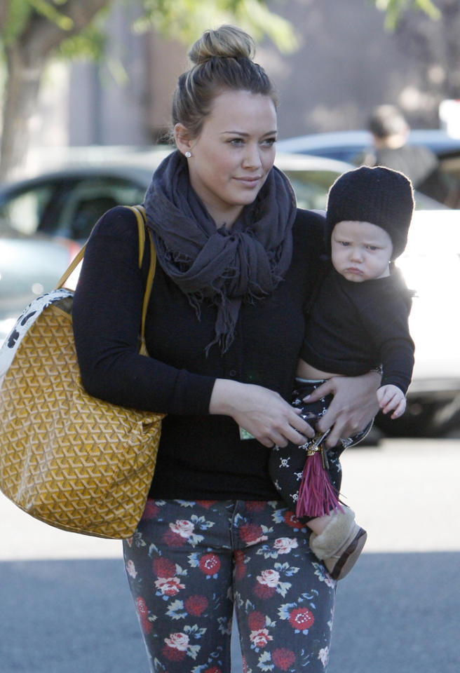Hilary Duff out and about in Beverly Hills, LA.