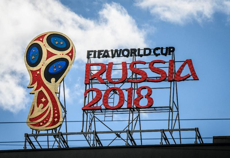 The World Cup opens in Russia on June 14 (AFP Photo/Mladen ANTONOV)
