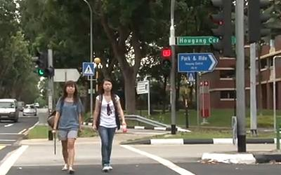One student living in Hougang asked whether he could pay less tax since the area does not enjoy as much upgrading programmes. (Yahoo! Photo).