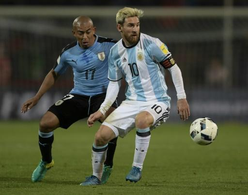 Messi strikes back as Argentina sink Uruguay