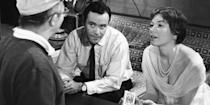 """<p>A comedy of complicated love connections, Billy Wilder's rom-com is about a man who allows his bosses to use his digs for trysts with their mistresses as an attempt to climb the corporate ladder. And though Christmas is more of a choice of setting than a driving plotline, the brilliant dialogue between its stars—Shirley MacLaine and Jack Lemmon—is the very same magic that so often is celebrated this time of year. <a class=""""link rapid-noclick-resp"""" href=""""https://www.amazon.com/Apartment-Jack-Lemmon/dp/B004AUFVU0?tag=syn-yahoo-20&ascsubtag=%5Bartid%7C10056.g.13149732%5Bsrc%7Cyahoo-us"""" rel=""""nofollow noopener"""" target=""""_blank"""" data-ylk=""""slk:Watch"""">Watch</a><br></p>"""