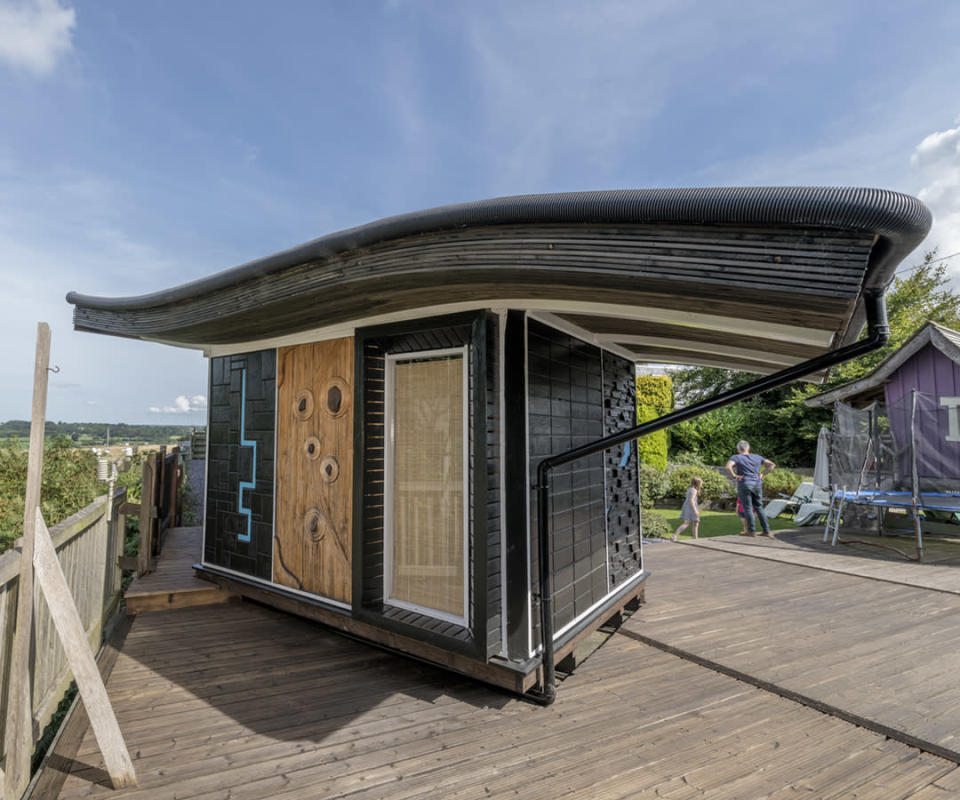 <p>BUDGET:<br>Buenai Vista – owned by Hywel Jones in Gwynedd (Picture: Shed of the Year) </p>