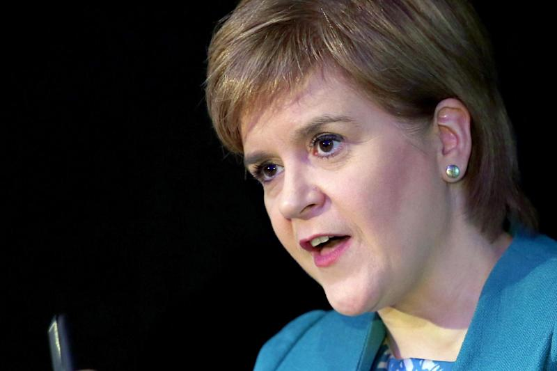 Second referendum: Scottish First Minister Nicola Sturgeon wants a second vote on independence: PA
