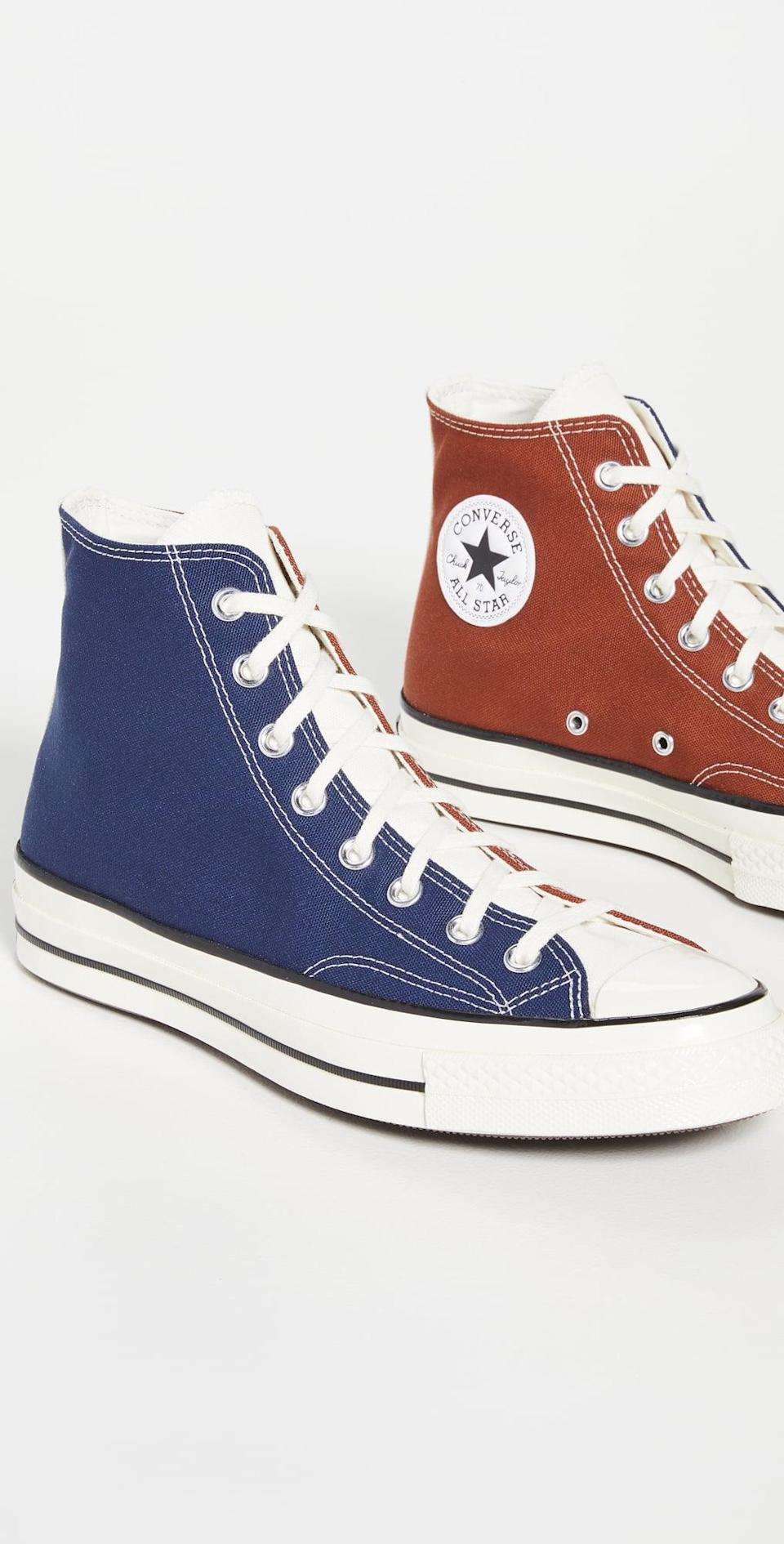 <p>These <span>Converse Hybrid Texture Chuck 70 Sneakers</span> ($85) are extremely practical, but we love the colorful update on the classic style. They are a fun way to enliven your shoe collection.</p>