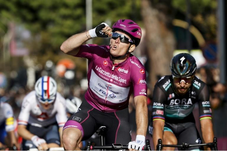 Demare wins sprint for third stage victory in this year's Giro