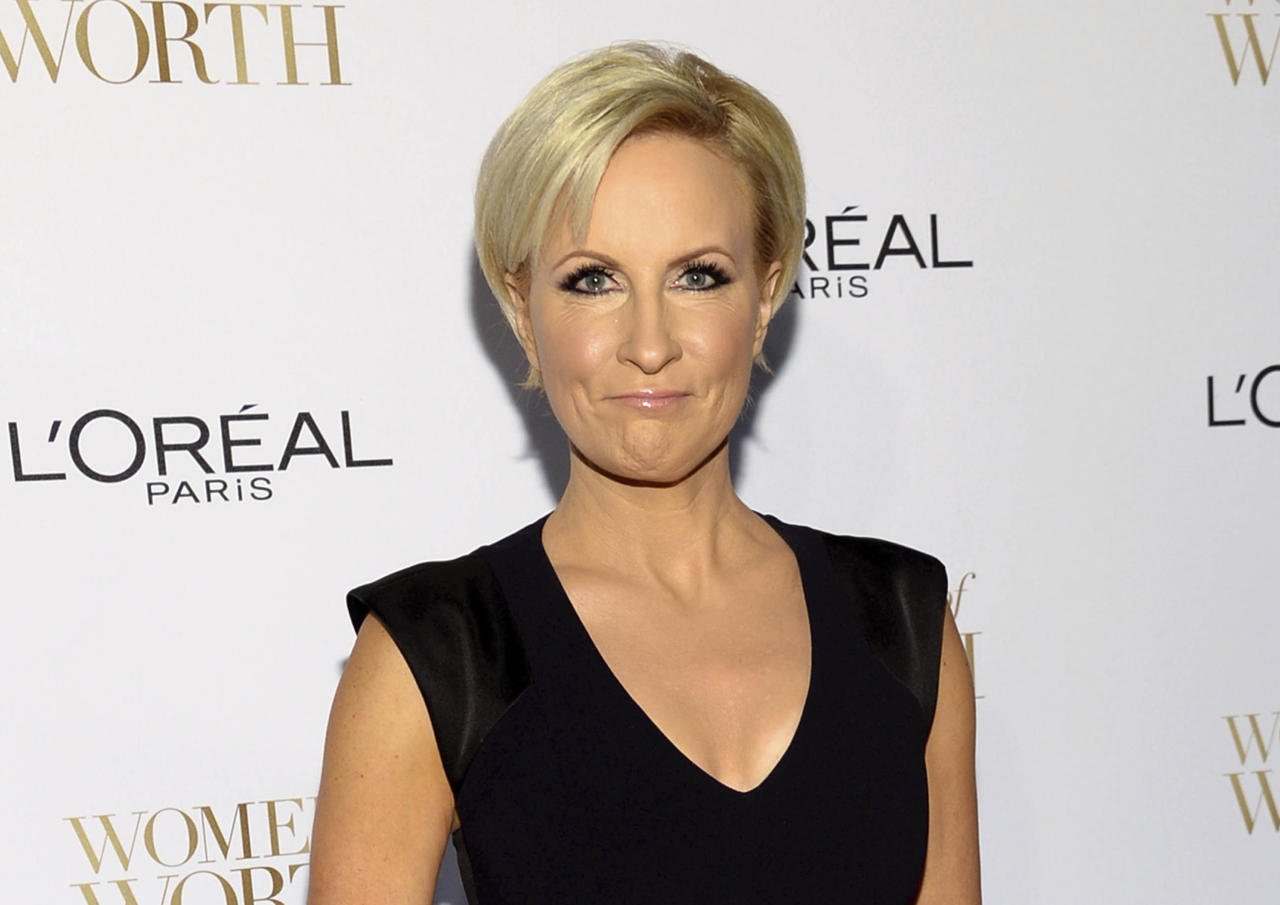 "FILE - In this Dec. 2, 2014, file photo, Mika Brzezinski arrives at the Ninth Annual Women of Worth Awards in New York. President Donald Trump has used a series of tweets to go after Mika Brzezinski and Joe Scarborough, who've criticized Trump on their MSNBC show ""Morning Joe."" (Photo by Evan Agostini/Invision/AP, File)"