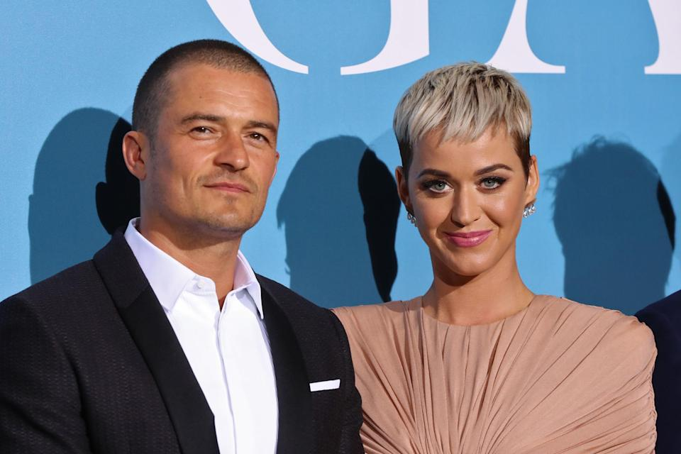 Reunited: Bloom and Perry got back together and are now expecting a child (Getty Images)