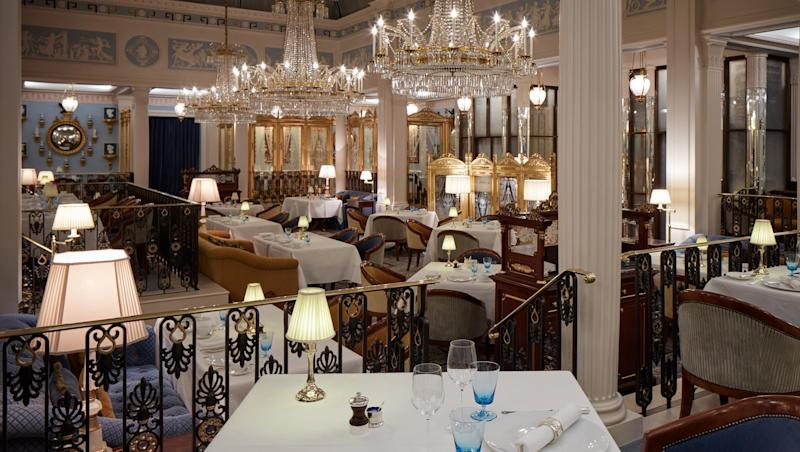 Celeste dining room: At The Lanesborough