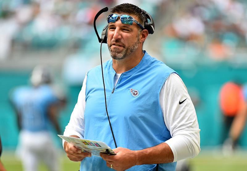 Titans coach Mike Vrabel's intentional penalty was pure genius