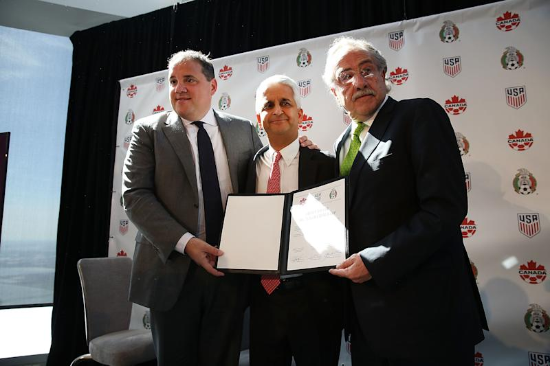 United States, Canada, Mexico form United Bid Committee for 2026 World Cup