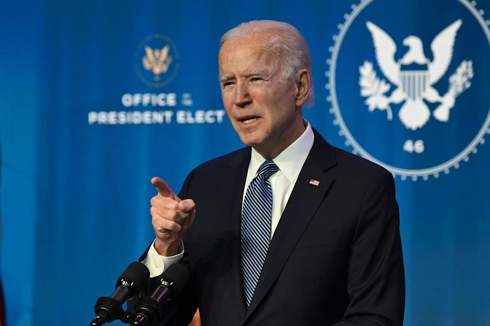 """US President-elect Joe Biden appeared on live television, saying the violence was """"not a protest, it's insurrection"""", demanding Trump to put """"an end to this siege"""". Photo: Getty"""