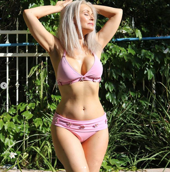 Kathy Jacobs has stunned in a bikini as part of a Sports Illustrated campaign