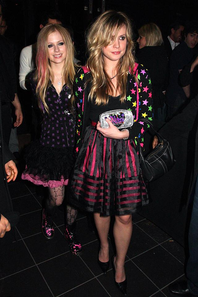 "With all the money she has, you'd think that Avril Lavigne could dress to impress on occasion, instead of traipsing around town looking like a Hot Topic cashier. Tony Brady/<a href=""http://www.splashnewsonline.com"" target=""new"">Splash News</a> - March 18, 2009"