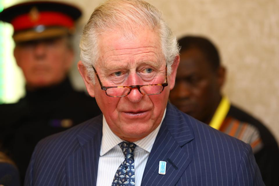 Prince Charles looks shocked representing Kate and Williams choice of country home